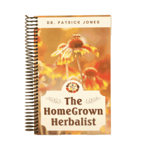 The HomeGrown Herbalist 4th Edition book by Doctor Patrick Jones